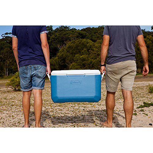 Coleman 70-Quart Xtreme 5-Day Heavy-Duty Cooler, Blue