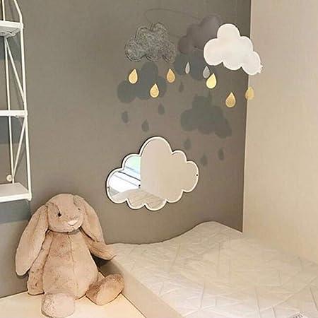 Stag Mirror Acrylic Home Decor Nursery Kids Room Living room Bathroom