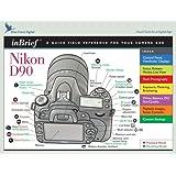 Nikon D90 inBrief laminated reference card