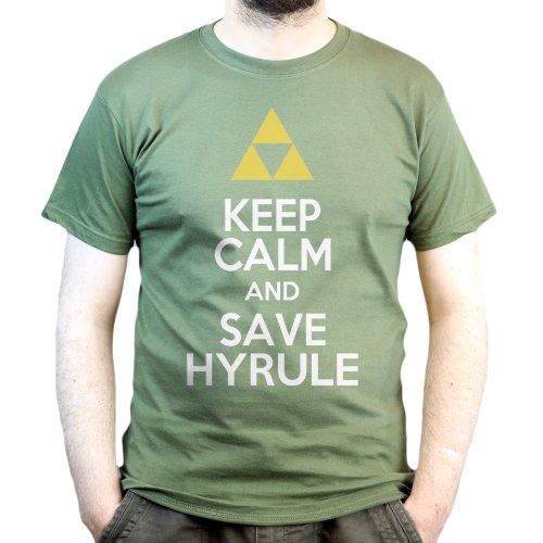 Keep Calm Hyrule Zelda shirt product image