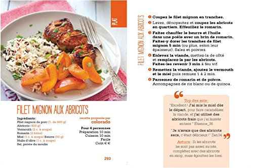 Amazon.fr , Année à Bloc , 365 recettes légères Marmiton