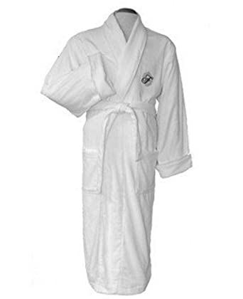 e4f012513f Fairmont Hotels Gold Floor Robe - Full Length Terry Velour 100% Cotton (One  Size