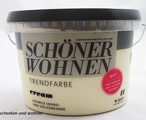 Schö ner Wohnen Trendfarben- Cream matt -1 l Schöner Wohnen