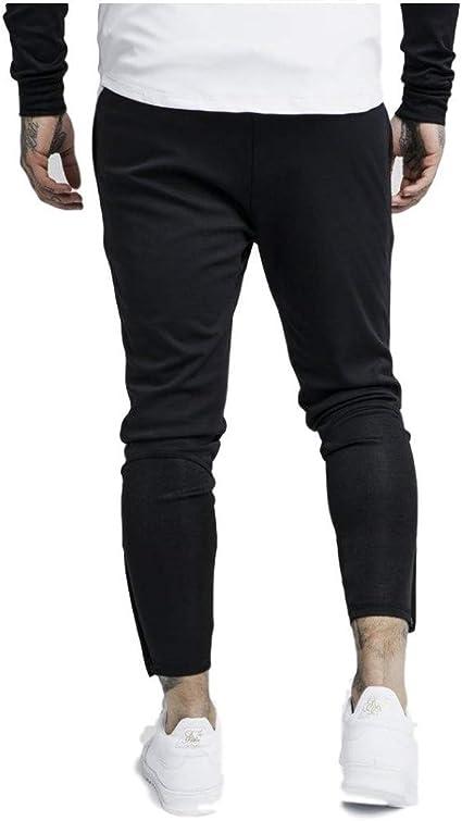 Sik Silk Pantalón de Chandal Zonal Negro: Amazon.es: Ropa y accesorios