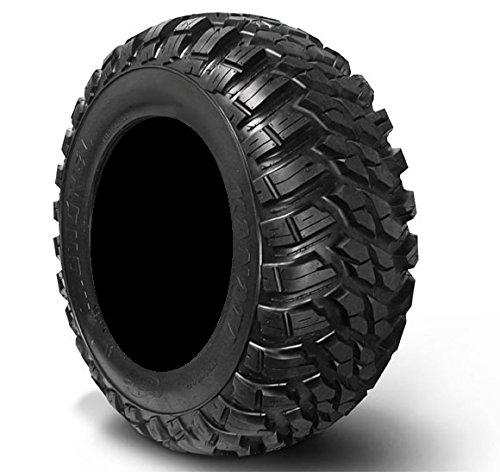 Bundle - 9 Items: MSA Black Diesel 15'' ATV Wheels 30'' Kanati Mongrel Tires [4x156 Bolt Pattern 12mmx1.5 Lug Kit] by Powersports Bundle (Image #2)