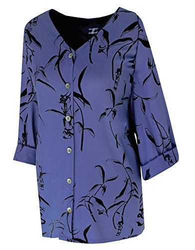 Plus Size Women's Classic Shirt, Clothing for PLUS SIZE Clothes XL 1X 2X by CIF