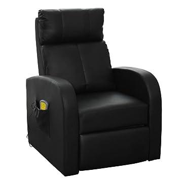 Vidaxl Fauteuil électrique De Massage Et De Relaxation Avec