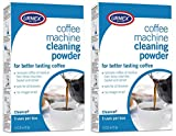 Urnex Cleancaf Coffee and Esspresso Machine Cleaning Powder – 3 Uses Per Box (2 Boxes) – Professional Espresso and Coffee Maker Cleaner Review