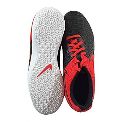 Nike Mens MagistaX Pro IC(Indoor) Black, Red, White, 6.5