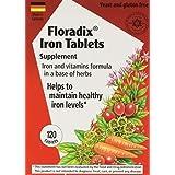 Salus Haus Floradix Iron Tablets 120 Tabs
