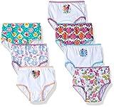 Dreamworks Toddler Girls' 7-Pack Trolls Underwear Panty, Troll/Multi, 2T/3T