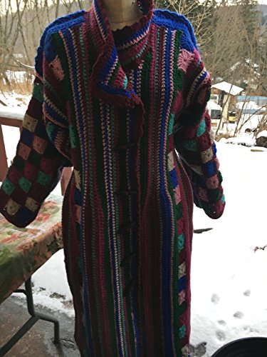 New crochet long coat by SMARTSTITCHINGLL3-BATOOLI BAGS+