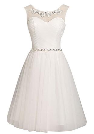 CoutureBridal® Kleid Kurzes Damen Schickes Kleid Brautjungfer 2016 ...