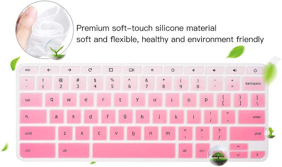 Lenovo Chromebook N42 14 Keyboard Skin Ombre Pink Lenovo Chromebook N20 N21 N22 N23 100e 300e 500e 11.6 Keyboard Cover for 2019 2018 Lenovo Chromebook C330 11.6 Lenovo Flex 11 Chromebook 11.6