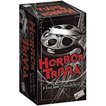 Horror Trivia Card Game (2018 Edition) - Scary Fun Halloween Game for Teens & Adults
