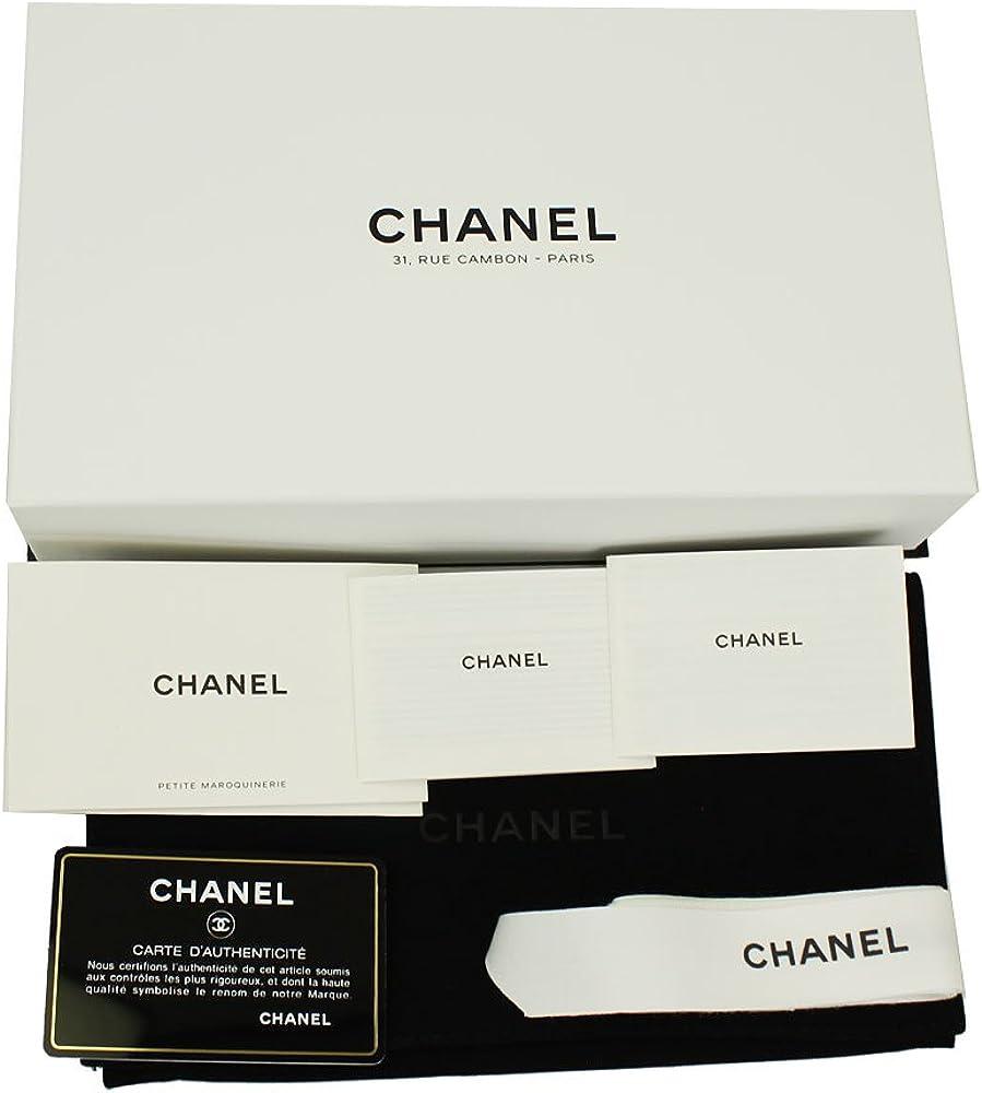 Chanel Matrasse - Cartera de piel con cremallera A70307 (cierre de cremallera), color negro: Amazon.es: Ropa y accesorios