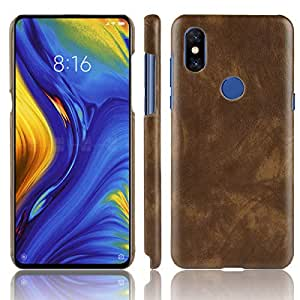 Amazon.com: Xiaomi Mi Mix 3 Funda Litchi Textura Cuero ...