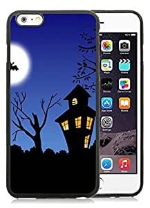 Individualization Case Cover For Apple Iphone 6 Plus 5.5 Inch halloween night Black Case Cover For Apple Iphone 6 Plus 5.5 Inch PC Case 1