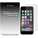 1x Apple iPhone 6 - Display Schutzfolie Klar Folie Schutz Display Screen Protector Displayfolie - RT-Trading