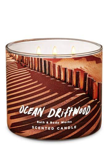 White Barn Bath & Body Works 3 Wick Candle Ocean Driftwood ()