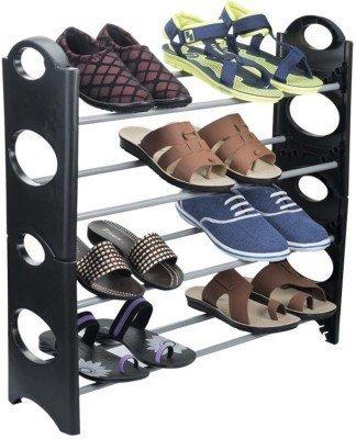 Unique Gadget Stackable Shoe Rack Storage, 4 Layer