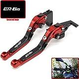 CNC Motorcycle Accessories Brakes Clutch Levers For KAWASAKI NINJA 650R ER-6F ER-6N 2009 2010 2011 2012 2013 2014 2015 2016