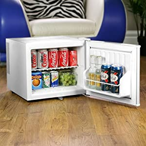 Great Little Fridge For Keeping Cold Drinks Or Small Left Over Items That  Need To Be Kept Chilled. Surprisingly Large Capacity.