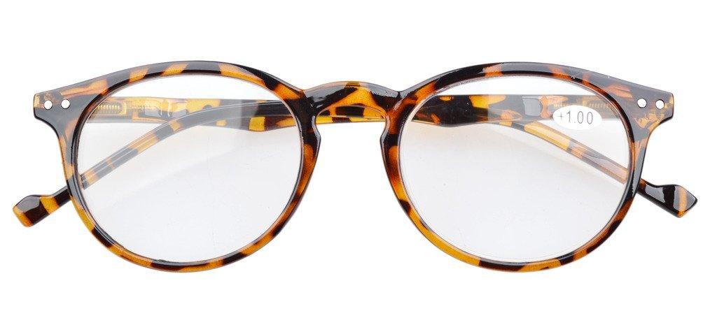 Eyekepper I lettori di qualità Primavera-Cerniere quadrato del foro chiave di stile occhiali da lettura Amber Frame Black Arms +0.5 KyXpvkPH