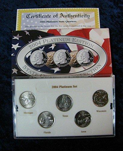 (2004 P Platinum Edition State Quarter Collection in Original Box Mint State)