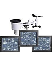 froggit Wunderground WH4000 SE Triple Draadloos weerstation (3 displays) wifi internet weerserver wonderground pc-software