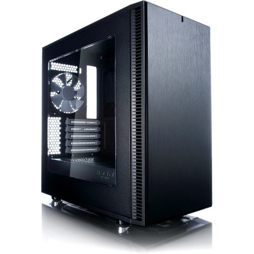 Fractal Design MicroATX Case with Window (FD-CA-DEF-MINI-C-BK-W)