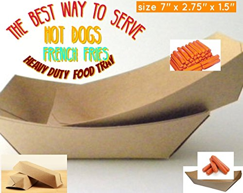 brown paper food trays disposable hot dog trays hot dog tray paper 7