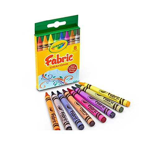 Crayola 8-Count Fabric Crayons]()