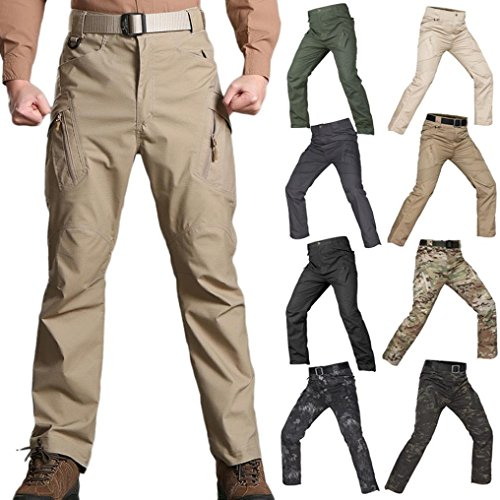 PASATO New!Men's Casual Tactical Military Army Combat Outdoors Work Trousers Cargo Pants(Camouflage, S) by PASATO (Image #6)
