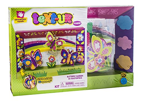 creative-hands-by-fibre-craft-text-ur-foam-3d-kit-for-arts-and-crafts-3d-masterpiece-butterfly