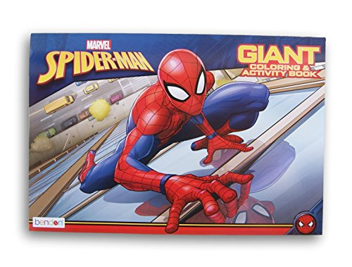 Bendon Marvel Spider-Man Giant Coloring and Activity Book - 10.75