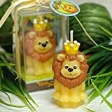 Cartoon Zodiac Lion Charming Gifts Party Candles Smokeless Candles Birthday Candles for Baby Shower and Wedding Favor Keepsake Favor (10)