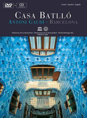 Descargar Libro Dvd Casa Batlló: Antoni Gaudí. Barcelona: Antoni Gaudi - Barcelona - World Heritage Site Pere Vivas Ortiz