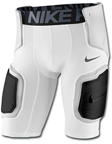 001fadc96f6 Nike Pro Hyperstrong Men s Football Shorts White White Wolf Grey Dark Grey  Size
