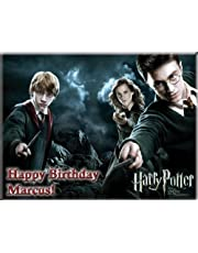 """Single Source Party Supply - Harry Potter Edible Icing Image #2-8.25"""" Round"""