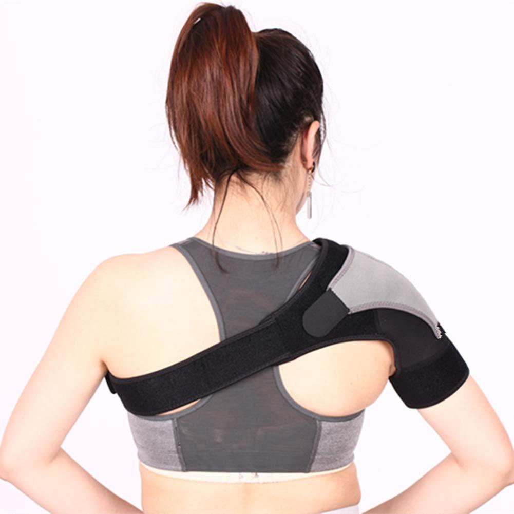 Sangle d'épaule réglable, support d'épaule Pad, épaule Wrap Sangle de compression, prise en charge et prévention des blessures pour l'arthrite, douleurs articulaires, la Reine des neiges épaules, entorse, restaurat