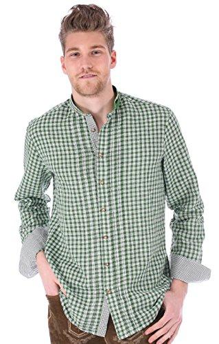 Trachtenhemd Damian grün, XL