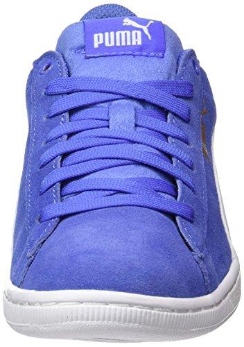 Puma Blu Vikky baja Blue Basse Sneaker Donna white qvraIqC