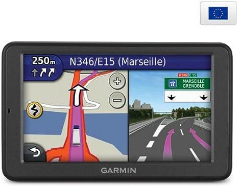 GARMIN GPS dezl 560 LMT Europa + Soporte universal + Duplicador encendedor + Estuche para GPS CARBON - talla L: Amazon.es: Electrónica