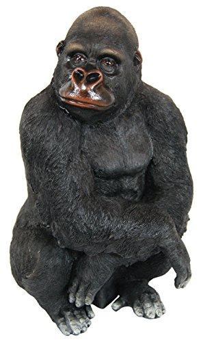 Alpine Gorilla Statue, 14 Inch ()