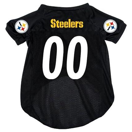 fb6bdaa82 Amazon.com   Hunter MFG Pittsburgh Steelers Dog Jersey