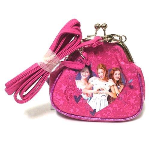 Freizeit-Tasche Geldbörse Disney Violetta Fuxia cm. 13x 14x 6133781