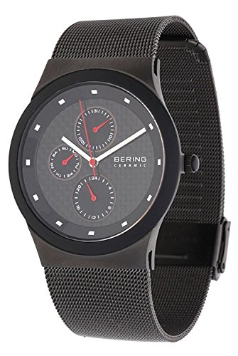 Bering Men's 32139-309 Ceramic Gunmetal Analog Watch