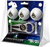 LinksWalker NCAA Purdue Boilermakers - 3 Ball Gift Pack with Hat Trick Divot Tool