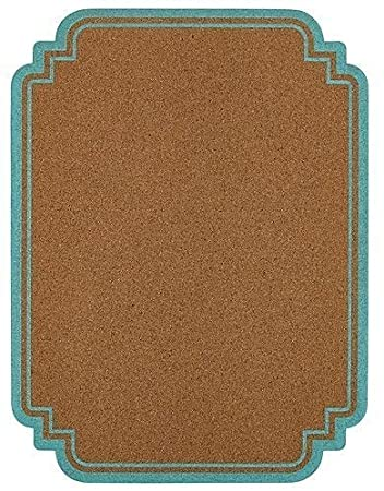 Office by Martha Stewart Message Board, 15x20, Blue